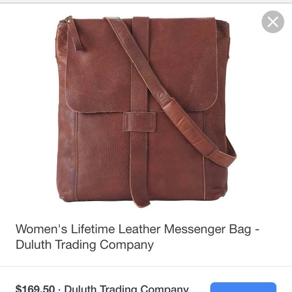 7921de97324b Duluth Trading Co Handbags - Duluth Trading Co Women's Lifetime Leather Bag